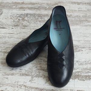 Sz 37 Thierry Rabotin Grace Nappa Leather Fla